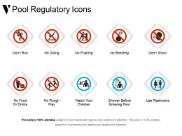 Pool Regulatory Icons Powerpoint Guide