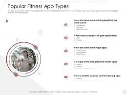 Popular Fitness App Types Market Entry Strategy Gym Health Fitness Clubs Industry Ppt Information