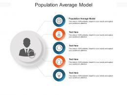 Population Average Model Ppt Powerpoint Presentation Summary Format Cpb