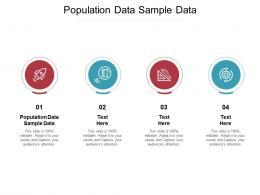 Population Data Sample Data Ppt Powerpoint Presentation Summary Good Cpb