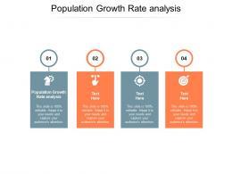 Population Growth Rate Analysis Ppt Powerpoint Presentation Show Portfolio Cpb