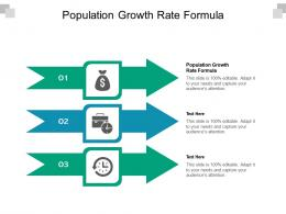 Population Growth Rate Formula Ppt Powerpoint Presentation Infographics Layouts Cpb