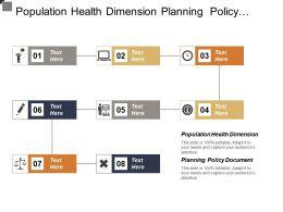 Population Health Dimension Planning Policy Document Surveillance System