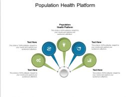 Population Health Platform Ppt Powerpoint Presentation Icon Brochure Cpb