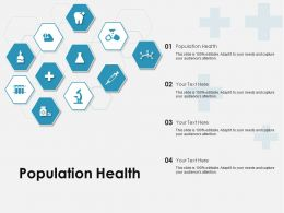 Population Health Ppt Powerpoint Presentation Styles Demonstration