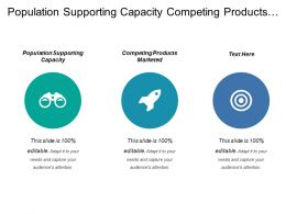Population Supporting Capacity Competing Products Marketed Data Discovery