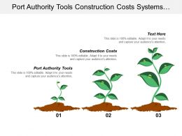 Port Authority Tools Construction Costs Systems Operates Efficiency