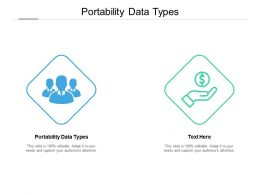 Portability Data Types Ppt Powerpoint Presentation Inspiration Graphics Pictures Cpb