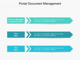 Portal Document Management Ppt Powerpoint Presentation Summary Outfit Cpb