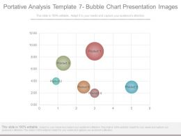 Portative Analysis Template 7 Bubble Chart Presentation Images