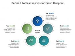 Porter 5 Forces Graphics For Brand Blueprint Infographic Template