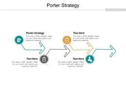 Porter Strategy Ppt Powerpoint Presentation Portfolio Visual Aids Cpb