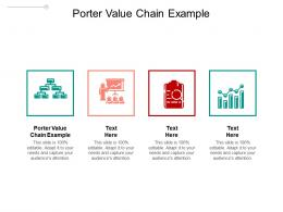 Porter Value Chain Example Ppt Powerpoint Presentation Summary Outline Cpb