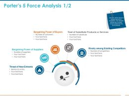 Porters 5 Force Analysis Buyers Ppt Powerpoint Presentation Styles Samples