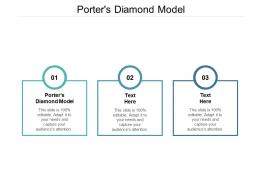 Porters Diamond Model Ppt Powerpoint Presentation Professional Infographic Template Cpb
