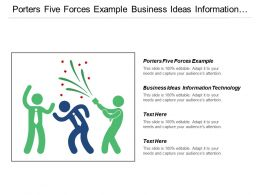Porters Five Forces Example Business Ideas Information Technology Cpb