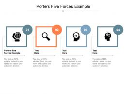 Porters Five Forces Example Ppt Powerpoint Presentation Professional Clipart Cpb