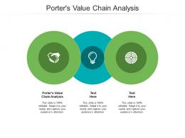 Porters Value Chain Analysis Ppt Powerpoint Presentation Infographics Sample Cpb