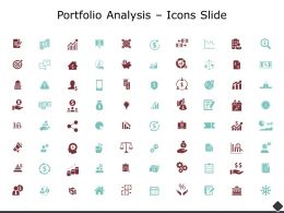 Portfolio Analysis Icons Slide Social Ppt Powerpoint Presentation Ideas
