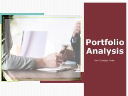 Portfolio Analysis Powerpoint Presentation Slides