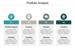 Portfolio Analysis Ppt Powerpoint Presentation Pictures Outfit Cpb