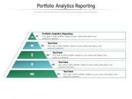 Portfolio Analytics Reporting Ppt Powerpoint Presentation Summary Sample Cpb