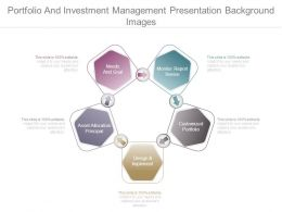 Portfolio And Investment Management Presentation Background Images