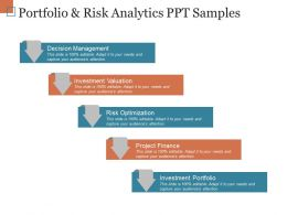 Portfolio And Risk Analytics Ppt Samples