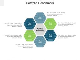 Portfolio Benchmark Ppt Powerpoint Presentation Styles Format Ideas Cpb