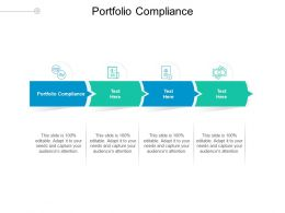 Portfolio Compliance Ppt Powerpoint Presentation Layouts Picture Cpb