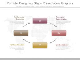 Portfolio Designing Steps Presentation Graphics