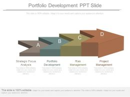 Portfolio Development Ppt Slide