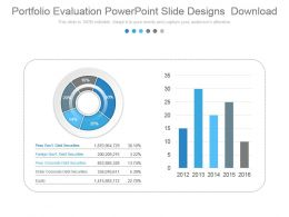 Portfolio Evaluation Powerpoint Slide Designs Download