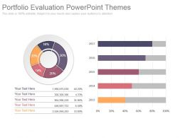 Portfolio Evaluation Powerpoint Themes