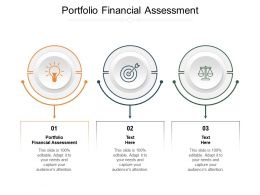 Portfolio Financial Assessment Ppt Powerpoint Presentation Layouts Background Cpb