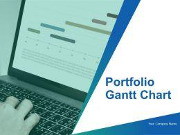 Portfolio Gantt Chart Powerpoint Presentation Slides