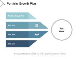 Portfolio Growth Plan Ppt Powerpoint Presentation Portfolio Background Images Cpb