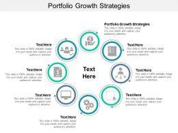 Portfolio Growth Strategies Ppt Powerpoint Presentation Styles Clipart Cpb
