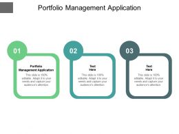 Portfolio Management Application Ppt Powerpoint Presentation Infographics Portfolio Cpb