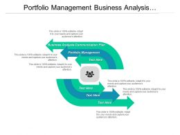 Portfolio Management Business Analysis Communication Plan Shareholder Analysis Cpb