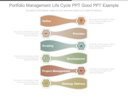 Portfolio Management Life Cycle Ppt Good Ppt Example