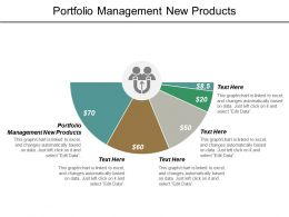 Portfolio Management New Products Ppt Powerpoint Presentation Pictures Inspiration Cpb