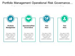 Portfolio Management Operational Risk Governance Asset Management Venture Capital Cpb
