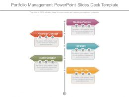 Portfolio Management Powerpoint Slides Deck Template