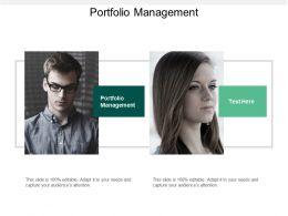 Portfolio Management Ppt Powerpoint Presentation File Background Designs Cpb