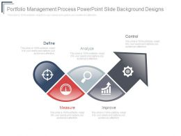 Portfolio Management Process Powerpoint Slide Background Designs
