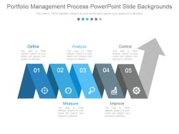 Portfolio Management Process Powerpoint Slide Backgrounds
