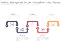 Portfolio Management Process Powerpoint Slide Themes