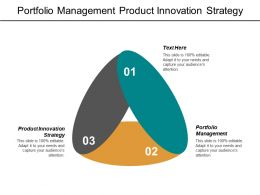 Portfolio Management Product Innovation Strategy Balanced Scorecard Kpis Cpb