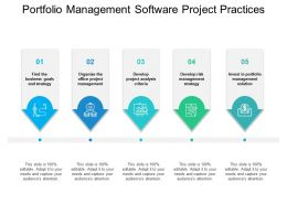Portfolio Management Software Project Practices